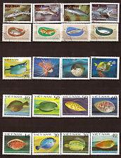 VIETNAM Fish of sea - les poissons lunes,requins,soles,carrelets  28m176b
