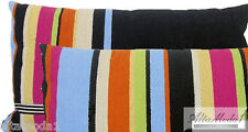 MISSONI HOME ECO  DYE GARY T59 INDOOR OUTDOOR WITH FILLING PILLOW 100% COTTON