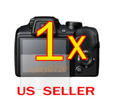 1x Fujifilm FinePix S8200 S8300 Clear LCD Screen Protector Guard Shield Film