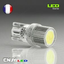 2 VEILLEUSE LED SMD HP6 CULOT T10 T9 W5W WY5W 194 501 BLANC XENON PUISSANTE