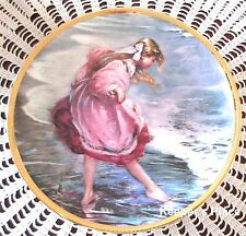 Alan Murray Heart Of A Child Plate 1st In Little Misses Young & Fair Series Mint