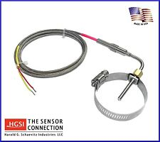 Exhaust Gas Temperature EGT Probe with Muffler Clamp