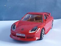 PORSCHE 911 CARRERA - RED 1.43 PERSONALISED GIFT DIECAST MODEL CAR NEW BOYS TOYS