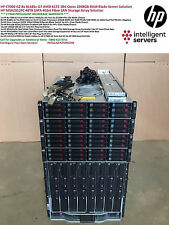 HP C7000 G2 8x HP BL685c G7 384-Cores 2048GB (2TB) RAM 48TB 4Gbit SAN Solution