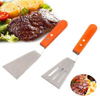 BE_ Stainless Steel Pastry Baking Tool Pizza Steak Spatula Shovel Kitchen Outdoo