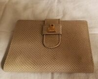 Judith Leiber Snakeskin Bi-Fold Wallet Address Phone Book Vintage New