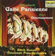Offenbach: GaiŒte' Parisienne/Ibert: Divertissement - Cincinnati Pops/Kunzel--CD
