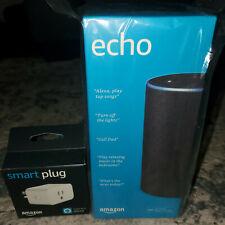 Amazon Echo (2nd Generation) Smart Speaker - Charcoal Fabric