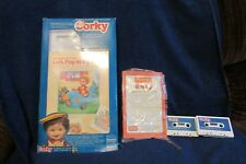 Playmates Corky Doll Tapes, Book and Instruction Manual