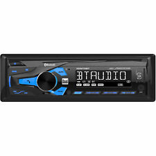 radio bluetooth remote control AM-FM USB FRONT AUX 120-WATTS CAR BOAT MOTORCICLE