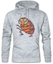 Bed Bug Hoodie Sweatshirt Cockroach Toon Comic Fun Cartoon Drawing