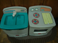 VINTAGE 1980'S STEP 2, KITCHEN SINK/DISHWASHER,STOVE/OVEN 100 PIECE/DISHES/FOOD