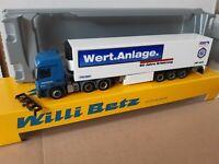 Actros  3 ACHSIG   Nr: 5853 WILLI BETZ /  Schmitz Cargobull / Wert.Anlage. Küko