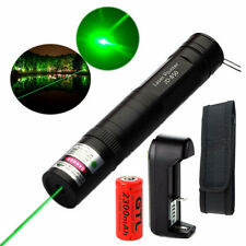 10miles 532nm 5mw Mini Green Laser Pointer Light Pen Lazer 16430 Battery Charger