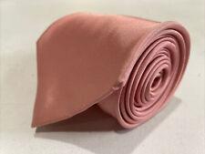 Burberry Men's Pink Solid Silk Neck Tie $215