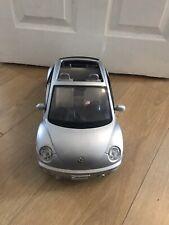 More details for rare maytel barbie silver vollswagon beetle car mattle