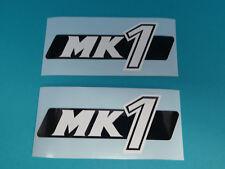 Hercules MK 1 Seitendeckel Sticker Schriftzug Dekor Aufkleber Bj. 1975-78