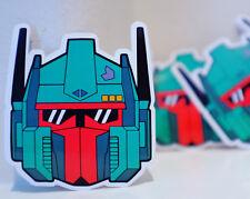 "Optimus Prime x Boba Fett Transformers retro 3"" phone car Decal Sticker #1063"