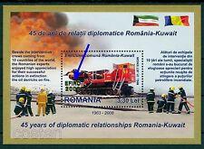 2008 Oil derrick Jet Engine Fire Truck,Firefighter,Romania-Kuwait,429I,MNH/ERROR