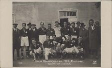 FOOTBALL JUEGOS OLIMPICOS 1924 EQUIPE DE SUISSES N°162 REAL PHOTO