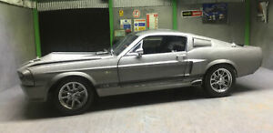 Shelby Collectables 1967 Ford Mustang GT500E Eleanor  1:18 Diecast Model Flawed