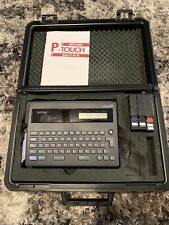 Brother P Touch Electronic Labeling System Model Pt 2025 Hard Case