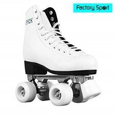 Patines Atipick patín 4 ruedas blanco patinaje artístico de iniciación Talla 37