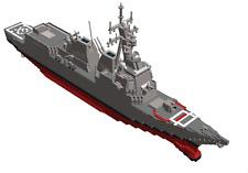 Lego Custom Instruction Warship ( instruction only)