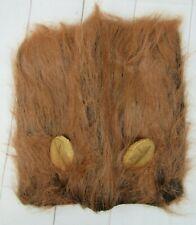 Brown Lion Mane Dog Wig S163
