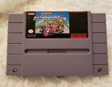 Super Mario Kart Snes Nintendo! Tested!! Authentic!! Fast Shipping!!
