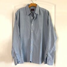 Untuckit Mens Check Shirt Size XL Long Sleeve Button Down