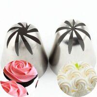 Russian Piping Set Cake Decor Icing Nozzles Tips Pastry Baking DIY Tool Bag New