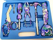 Ladies 12pc Floral Tool kit / set i; Hammer,Pliers.Screwdrivers;Scissors etc P