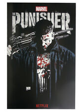 Punisher 2017 SDCC Comic Con Exclusive Promo Poster Marvel Quesada Netflix