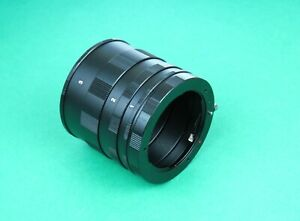 Macro Extension Tube Ring for Pentax Camera K-3II, K-S2, K-S1, K-3, K-50, K-500
