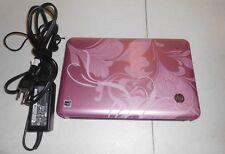"10.1"" HP Mini 110 PINK Netbook Laptop -password=password"
