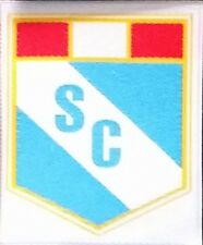 Soccer sporting crystal peru futbol Iron or Sew on Patch for Jersey or hat