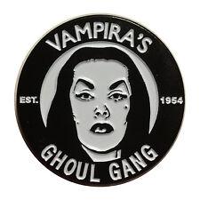 Vampira Ghoul Gang Punk Rockabilly Emo Goth Scene Enamel Pin Badge BEVGG
