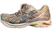 Asics Gel T954n Gt2140 Women's 6 Used Running Shoes White, Silver, Turquoise.