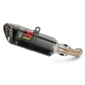 Akrapovic Silenciador Slip-On KTM Duke 125 250 390 Rc 125 250 390