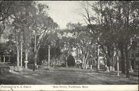 Northboro MA Main St. c1910 Postcard