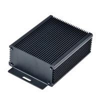 Aluminum Enclosure Electronic DIY PCB Instrument Project Box Case(100x80x37.5mm)
