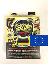 Action Replay Powersaves for Nintendo 2DS/3DS/3DSXL Perfect for Sun & Moon (PAL)