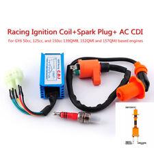 High Performance Racing Ignition Coil+Spark Plug+AC CDI For GY6 50 125 150cc ATV