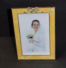 New Beautiful Designer ELEGANCE Silverplated/Zinc Lacquer Coated Photo Frame 4x6
