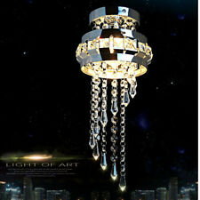Modern Chandelier Acrylic Crystal Light Shades Droplet Pendant Ceiling lamp