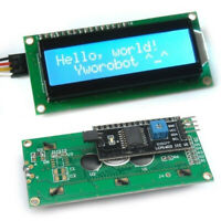 New Blue IIC I2C TWI 1602 16x2 Serial LCD Module Display for Arduino