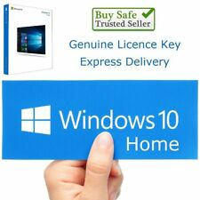 Windows 10 Home 32/64bit Genuine Key Product Code