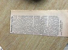m6-4 ephemera 1967 football report stowmarket 3 kings lynn res 0 rudd