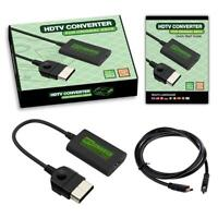 1x HDMI-compatible Converter Adapter for Retro Video Game Console Black Best